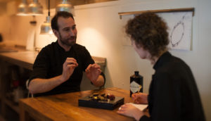 maak een afspraak met chefs on tour